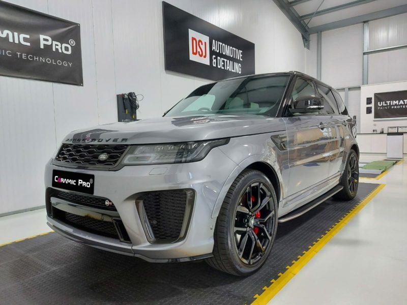 Car detailing - Range Rover